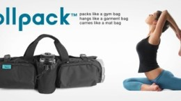 Yoga Is In the Bag with Hot Dog Yoga's New Rollpack