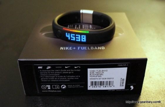 Fuelband - Display