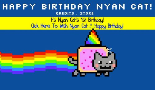 Nyan Cat Birthday