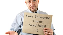 GearDiary Teething Troubles for Tablet Adoption in the Workplace