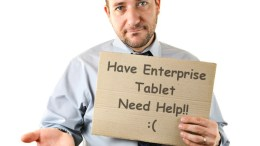 Teething Troubles for Tablet Adoption in the Workplace