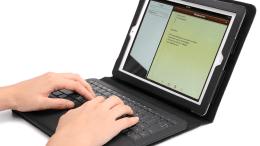 GearDiary IPEVO Typi Folio Keyboard/Case for new iPad and iPad 2 review