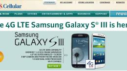 U.S. Cellular's Samsung Galaxy S III Available This Week