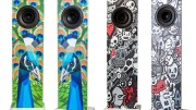 GearDiary Functional Home Decor: Urban Fidelity Art Speakers