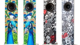 Functional Home Decor: Urban Fidelity Art Speakers