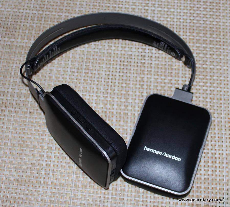 Kicker HP402BT Tabor Black Over-The-Ear Wireless Bluetooth Headphones