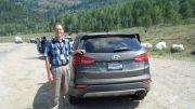2013 Hyundai Santa Fe, a Hands-On Driving Experience