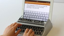 GearDiary iTypewriter Concept Brings Inefficient Typing Nostalgia to the iPad!