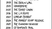 xkcd Puts Names to What Our Cultural Memory Will Forget Each Year