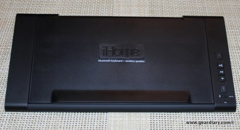 iHome iDM5 Bluetooth Keyboard Speaker System Review