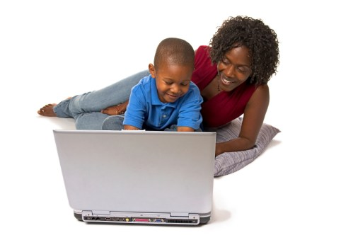 Mother-Child-Computer