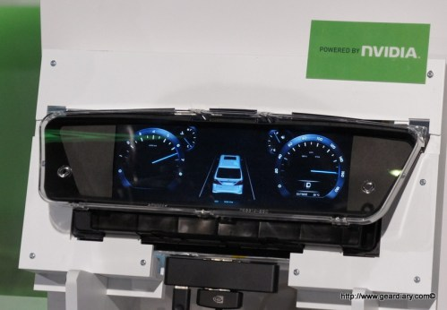 Nvida Tegra Auto Display