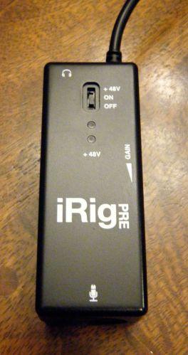 iRig Pre Hands-On1