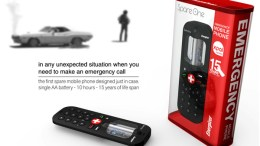 Emergency Cell-Phone Lasts 10 Hours On A Single 'AA' Battery