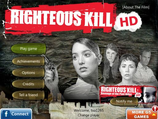 Righteous Kill HD for iPad Review  Righteous Kill HD for iPad Review  Righteous Kill HD for iPad Review