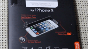 Spigen SGP GLAStR Tempered Glass Screen Protector for iPhone 5