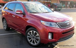 2014 Kia Sorento Test Drive: Mid-Size SUV Loaded with Luxuries