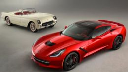 GearDiary First Chevrolet Corvette Debuted 60 Years Ago Today, First C7 Hits Auction Block Saturday