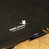 MonCarbone Black Diamond Smartt Mate carbon Fiber iPad Shell