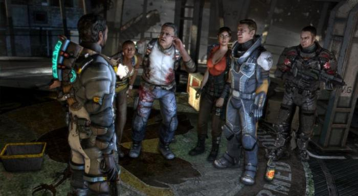 Dead Space 3 group