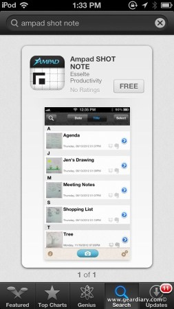 Shot Note Pad and App Helps Save Your Notes and Memories