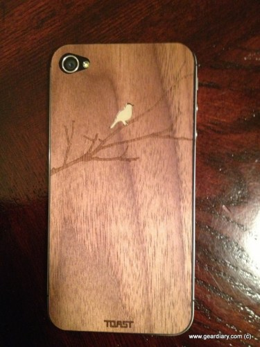 Toast Wooden iPhone Cover Review  Toast Wooden iPhone Cover Review