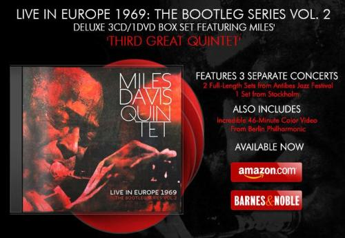 Miles Davis Quintet Live In Europe 1969 The Bootleg Series Vol. 2