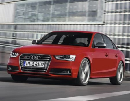 2013 Audi S4 Speaks with a German Accent on Fun