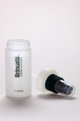 Brincatti Easy Fill Travel Bottles