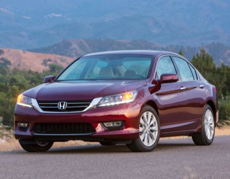 2013 Honda Accord Touring in the Grinding Gears Garage