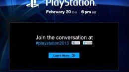 GearDiary PlayStation February 20 Announcement for PS4?