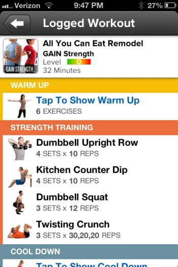Getting Fit with MyFitnessPal and GAIN Fitness  Getting Fit with MyFitnessPal and GAIN Fitness