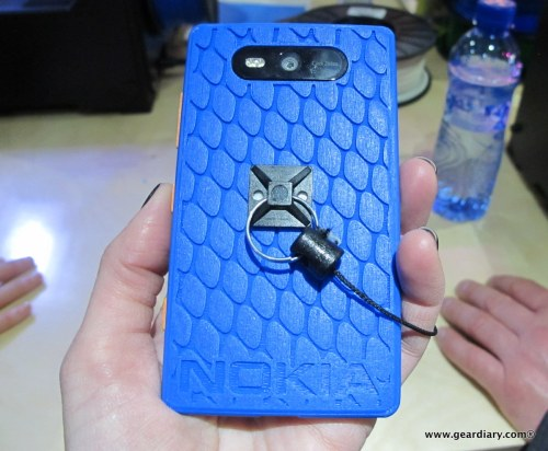 Nokia and MakerBot 3D Printed Lumia 820 Case