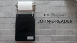 John-E-Reader Makes Your Bathroom Safe for Kindles