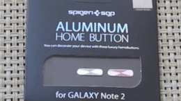 Spigen SGP Home Buttons for Samsung Galaxy Note 2 Add Bling to Your Phablet