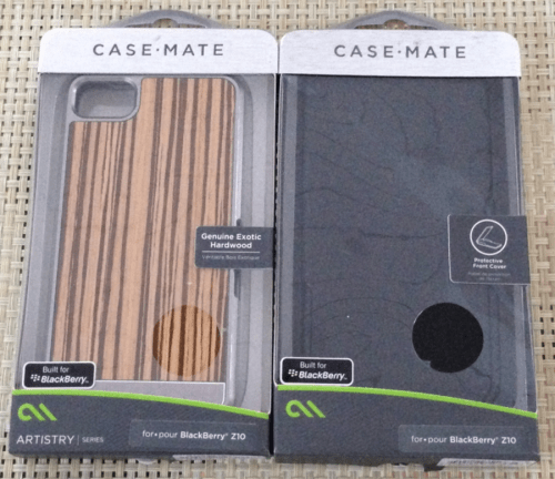 Blackberry Z10 Cases from Case-Mate First Look