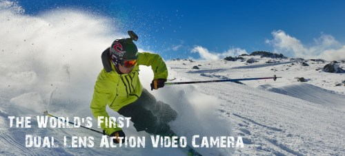 Oregon Scientific ATC Chameleon Dual Lense Action Camera Gives You Eyes in the Back of Your Head