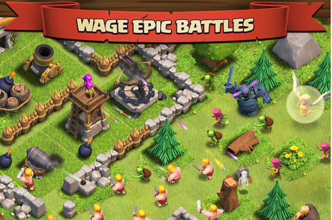 Clash of Clans for iOS Review