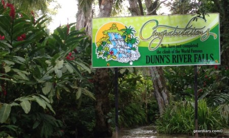 Dunn's River Falls Survival Gear