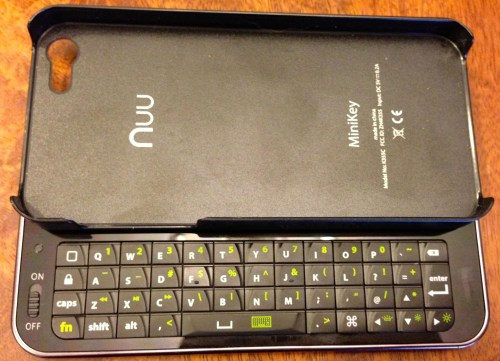 Nuu MiniKey Keyboard for iPhone 5 Review