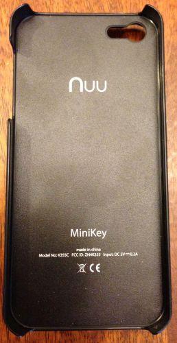 Nuu MiniKey for iPhone 53