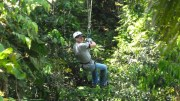 Ziplining Through the Jamaican Jungle