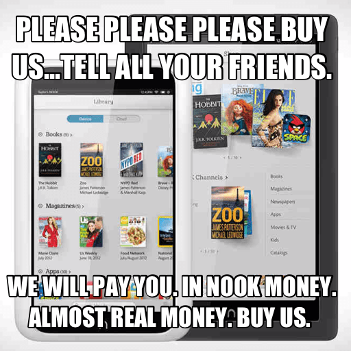 Barnes and Noble Has Forgotten What Makes the NOOK Interesting