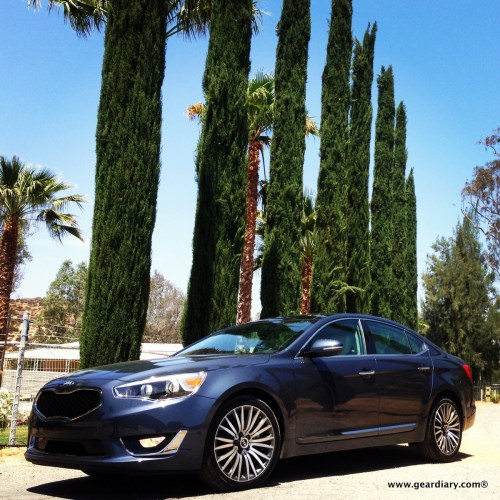 The 2014 Kia Cadenza