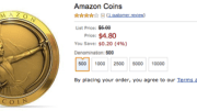 Amazon Introduces Coins for Kindle Fire Users