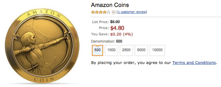 Amazon Introduces Coins for Kindle Fire Users  Amazon Introduces Coins for Kindle Fire Users
