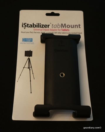iStabilizer tabMount Holds Your Tablet Right