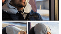 Travel HoodiePillow Hooded Travel Pillow Review
