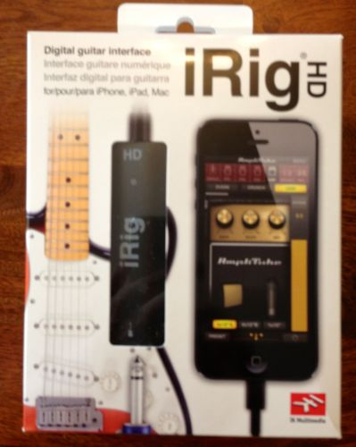 IK Multimedia iRig HD Guitar Interface for iOS Review