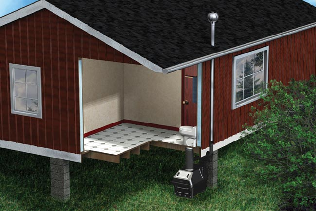Installation of the Envirolet® Waterless Remote System